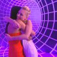 Virginie retrouve Anaïs dans l'hebdo de Secret Story 6 le vendredi 13 juillet 2012 sur TF1