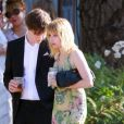 Emma Roberts assiste au mariage d'Emily Current à Santa Barbara le 14 juillet 2012