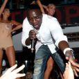 Akon au V.I.P. Room à Cannes, le 15 juillet 2012.
