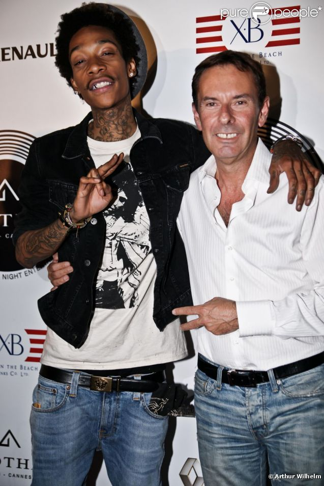 Wiz Khalifa Gotha Club à Cannes. Le 13 juillet 2012.