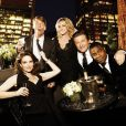 Tina Fey et Alec Baldwin dans  30 Rock.