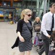 Anna Paquin à l'aéroport de Londres le 19 juillet 2012