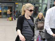 Anna Paquin : Bien enceinte de jumeaux, la star reste stylée pour voyager