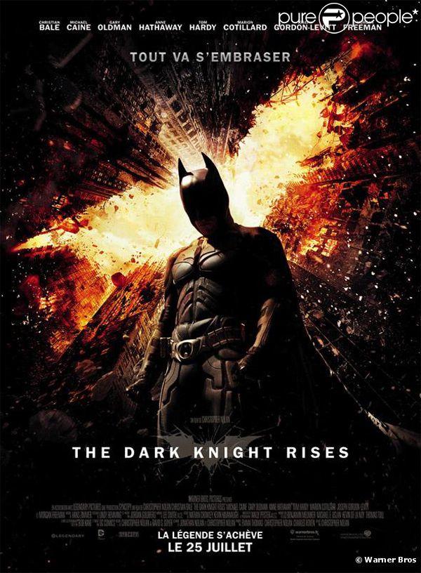 The Dark Knight Rises  de Christopher Nolan.