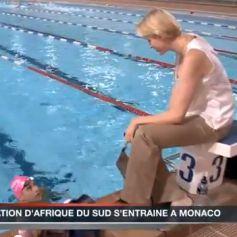 Charlene de monaco vid os for Piscine stade louis 2