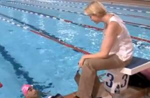 La princesse Charlene couve ses nageurs, Albert rend de 'baux' hommages à Grace
