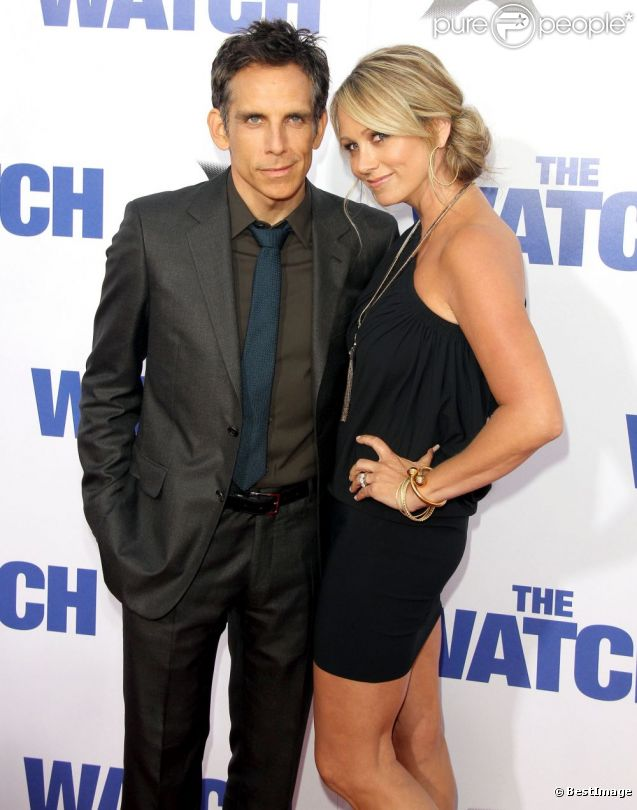 Ben Stiller couple