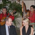 Charlene Wittstock et le prince Albert II de Monaco