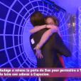 Ultime au revoir entre Capucine, éliminée, et Thomas, toujours en course ( Secret Story 6  - quotidienne du samedi 4 août 2012)