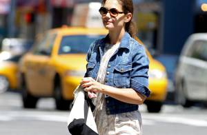 Katie Holmes : Seule à New York, la star a-t-elle le blues ?