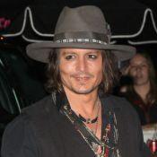 Johnny Depp : Première sortie en célibataire et avec le sourire