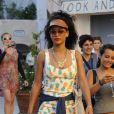Rihanna à Porto Cervo, le 17 juillet 2012.