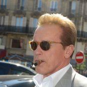 Arnold Schwarzenegger : Déjeuner avec ses enfants et balade en vélo à Paris
