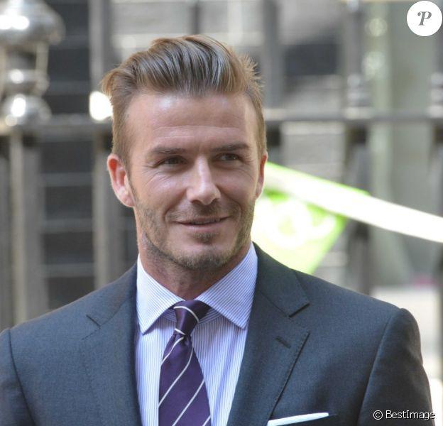 David Beckham à Londres en juillet 2012.