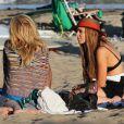 Lindsay Lohan passe du temps avec quelques amis à Malibu, Los Angeles, le 12 août 2012