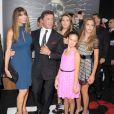 Sylvester Stallone en famille à la première de  The Expendables 2  à Los Angeles le 15 août 2012