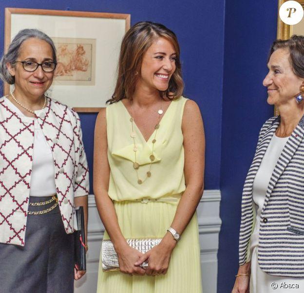 La princesse Marie de Danemark lors de l'inauguration de l'exposition François Boucher - Fragments d'une vision du monde, le 16 août 2012 au Musée Holtegaard de Copenhague.
