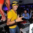 Le DJ Cut Killer au VIP Room de St-Tropez, le dimanche 12 août 2012.