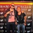 DJ Afrojack et Jean-Roch au VIP Room de St-Tropez, le mardi 14 août 2012.