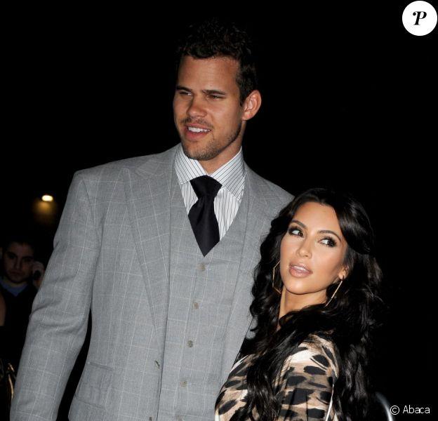 Kris Humphries et Kim Kardashian le 17 août 2011 à Los Angeles
