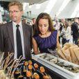 La princesse Marie de Danemark inaugurant la semaine de la cuisine de Copenhague, le 24 août 2012