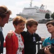 Prince Nikolai : Un ''Walkathon'' en famille avant la rentrée des classes