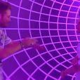 Yoann et Alexandre dans le sas dans l'hebdo de Secret Story 6 le vendredi 31 août 2012 sur TF1