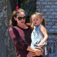 Jennifer Garner et sa fille Seraphina à Los Angeles, le 4 août 2012