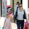 Jennifer Garner et Violet à Los Angeles, le 29 août 2012