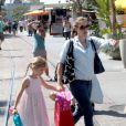 Jennifer Garner et Violet font du shopping à Los Angeles, le 29 août 2012