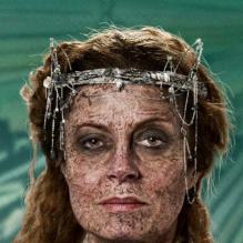 Susan Sarandon dans <em>Cloud Atlas.</em>