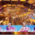 Nadège grande gagnante de la finale Secret Story 6 avec 73% des voix, vendredi 7 septembre 2012 sur TF1