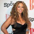 La chanteuse Mariah Carey pose sur le tapis des BMI Urban Music Awards, le vendredi 7 septembre 2012 à Beverly Hills.