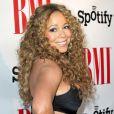Mariah Carey pose sur le tapis des BMI Urban Music Awards, le vendredi 7 septembre 2012 à Beverly Hills.