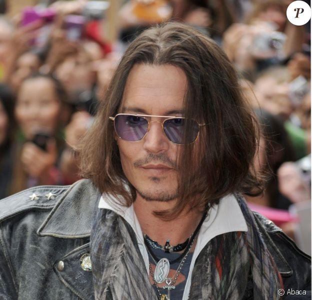 Johnny Depp et son look improbable lors du Festival international du film de Toronto le 8 septembre 2012