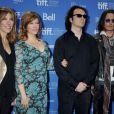 Amy Berg, Lorri Davis, Damien Echols et Johnny Depp lors du Festival international du film de Toronto le 8 septembre 2012