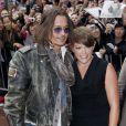 Johnny Depp défend le documentaire West of Memphis, avec Natalie Maines lors du Festival international du film de Toronto le 8 septembre 2012