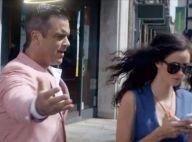 Candy, le clip : Robbie Williams en ange bagarreur pour la sexy Kaya Scodelario