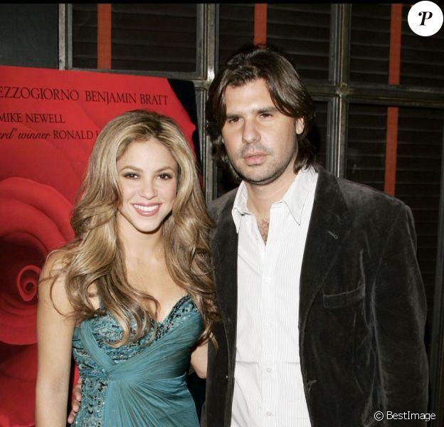 Shakira et Antonio de la Rua en 2007