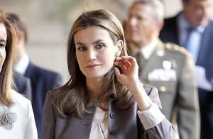 Letizia d'Espagne : Visite en solo de la princesse qui se découvre une passion