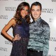 Kevin Jonas et son épouse Danielle assistent au défilé Badgley Mischka. New York, le 11 septembre 2012.