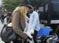 Blake Lively : De retour sur le tournage de Gossip Girl, la mariée se cache !