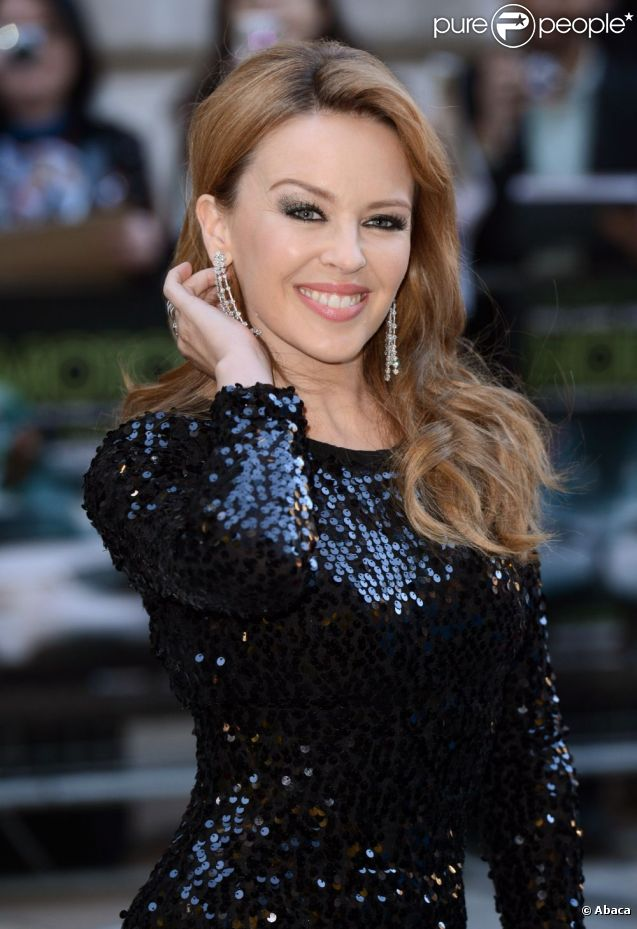 Kylie Minogue présente  Holy Motors  à Londres, le 18 septembre 2012.