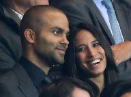 Tony Parker et Axelle, amoureux pour la victoire du PSG en Ligue des champions