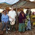 Le prince Joachim de Danemark en visite en Tanzanie avec CARE le 1er septembre 2012.