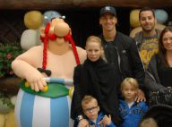 Zlatan Ibrahimovic et ses adorables bambins : En famille au Parc Astérix
