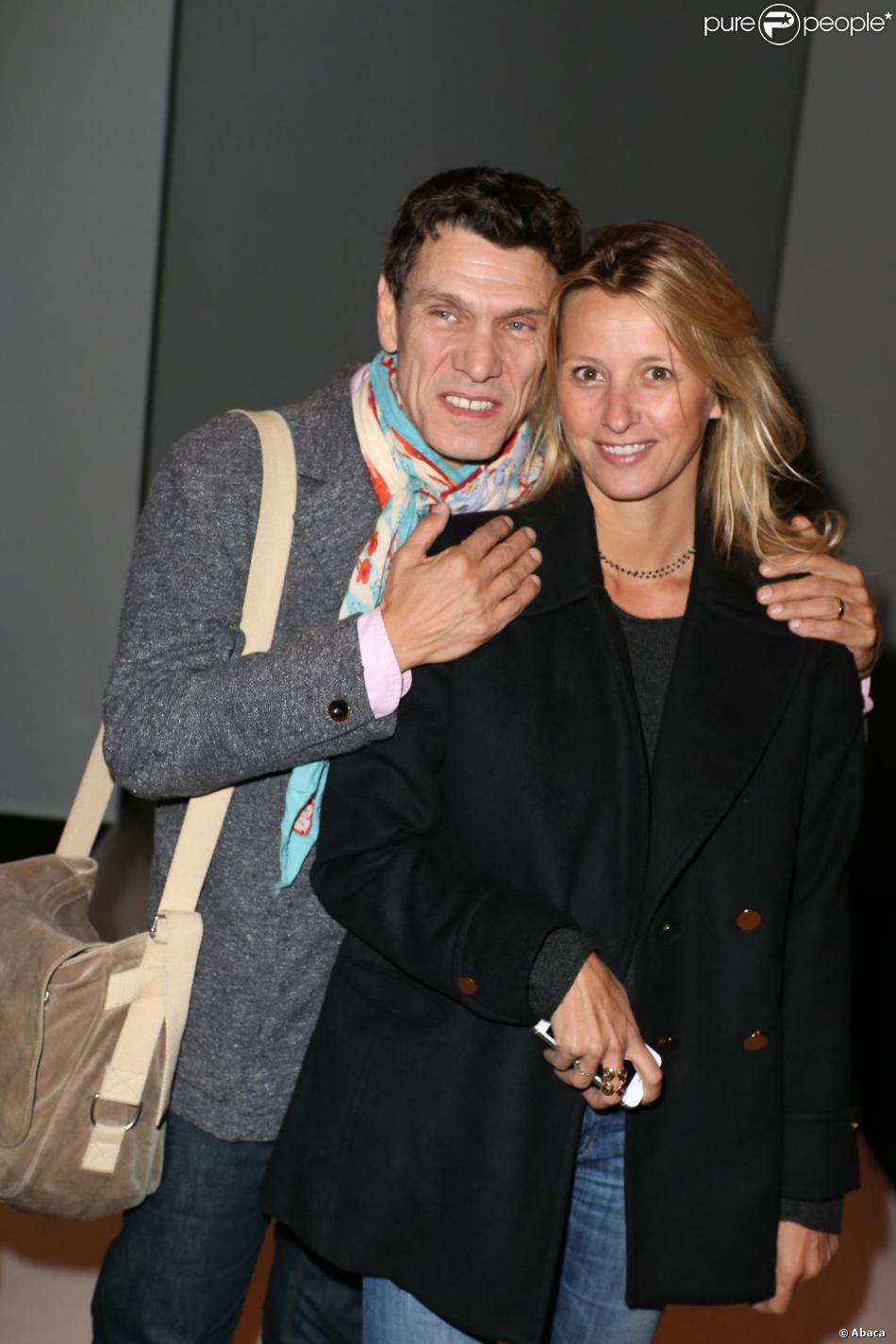 Marc lavoine et sarah poniatowski un couple souriant et fan de mode qui assi - Sarah lavoine enceinte ...