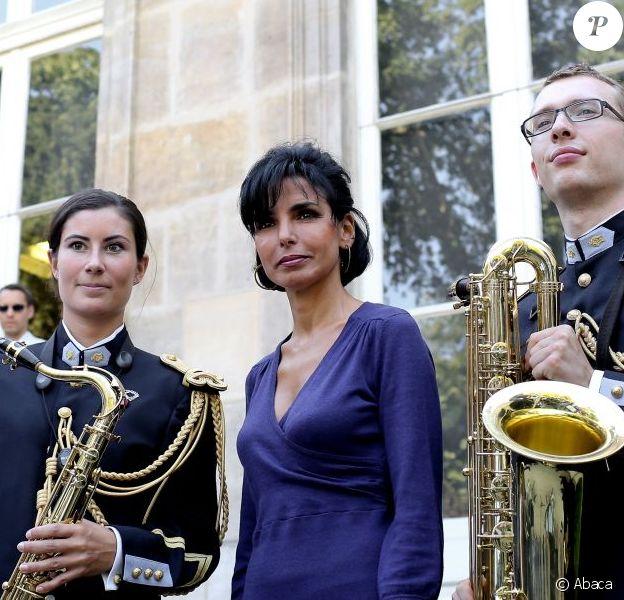 Rachida Dati à Paris, le 9 septembre 2012.
