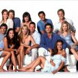Le cast de Melrose Place.