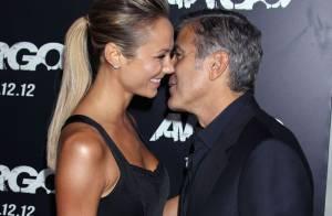 George Clooney et Stacy Keibler sexy: Très amoureux, loin des rumeurs de rupture